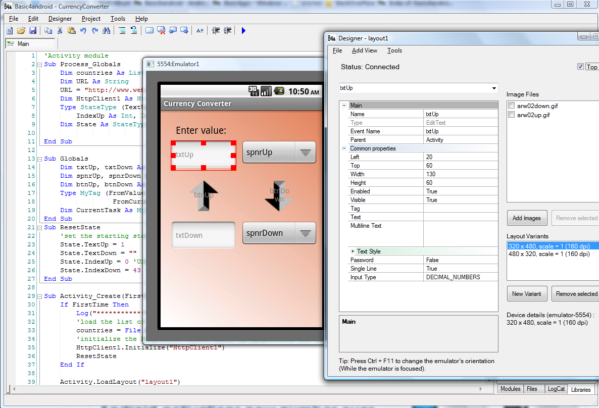 IDE-basic4android