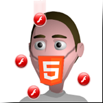 HTML5-flash