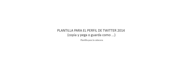 Palentino Blog - Tamaños para las imágenes del perfil de Twitter ...