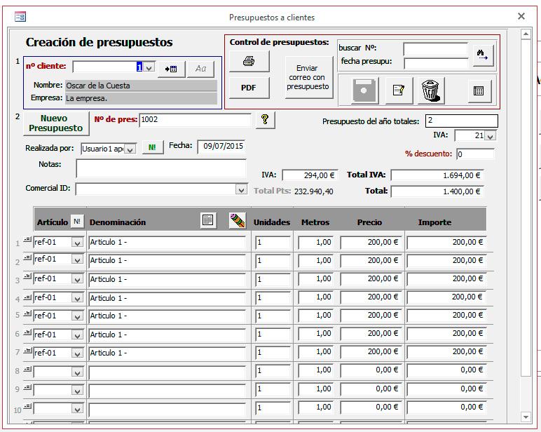 Palentino Blog - Plantilla Access para el control de clientes ...