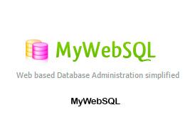 MyWebSQL