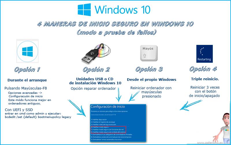4-maneras-de-inicio-seguro-en-windows-10