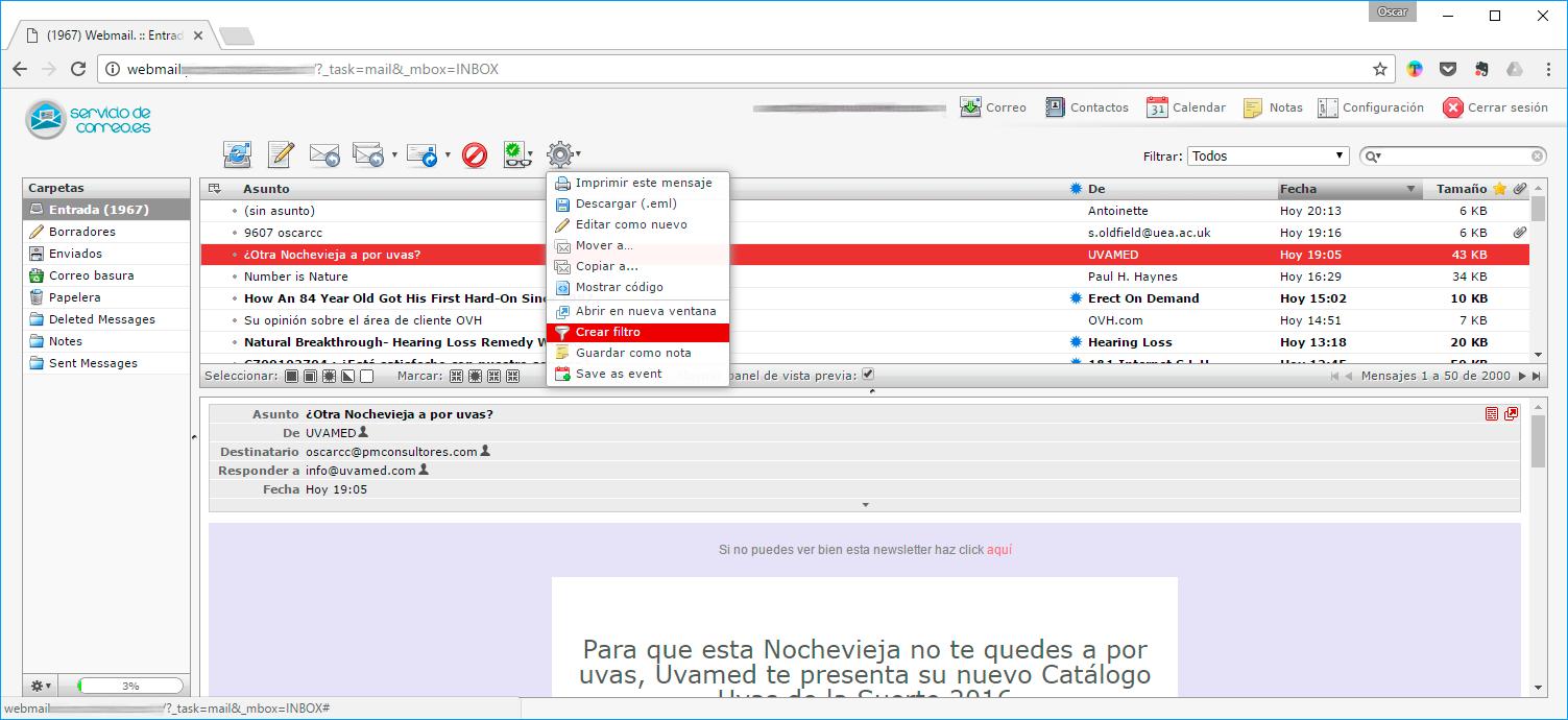 filtro-desde-herramientas-webmail-spam-i